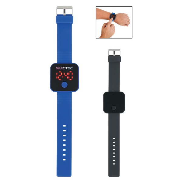 JH2910 Square Unisex Digital LED WATCH With Custom Imprint