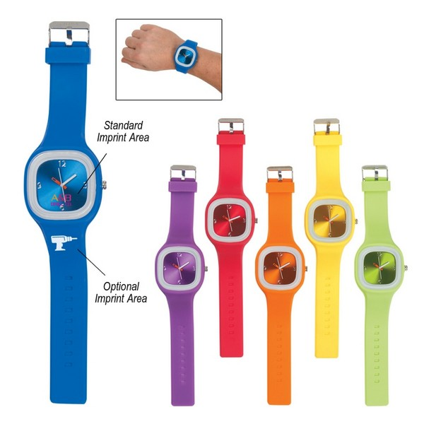 JH2901 Time For Fun UNISEX WATCH With Custom Imprint