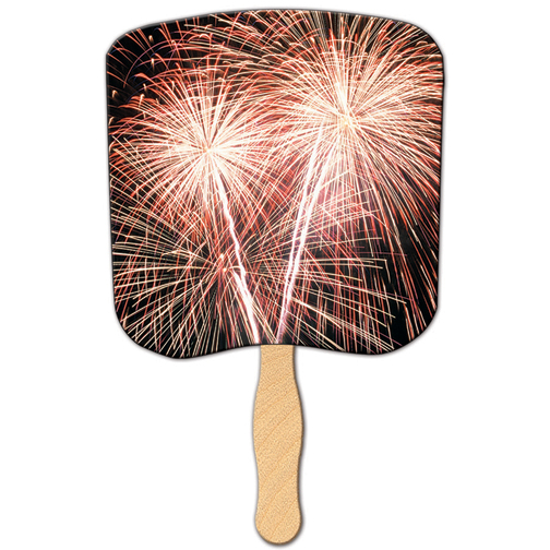 SOF2 FIREWORKS Special Occasion Fan With Custom Imprint
