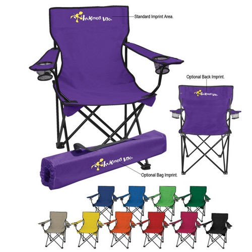 HH7050 Custom Imprinted Folding CHAIR With Carrying Bag