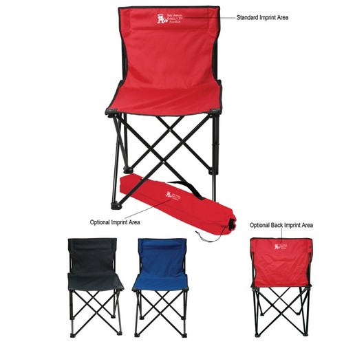 HH7070 Custom Imprinted Folding CHAIR With Carrying Bag