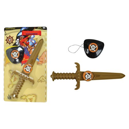 TR73091 Pirate DAGGER with Eye Patch