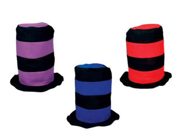 AR50764 Black Assorted Stove PIPE Hat