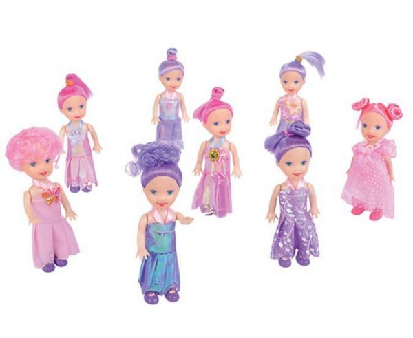 ''TR66045 Assorted 4'''' DOLLs''