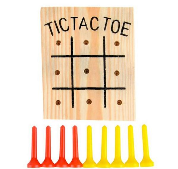TR12120 Wooden Tic Tac Toe GAME