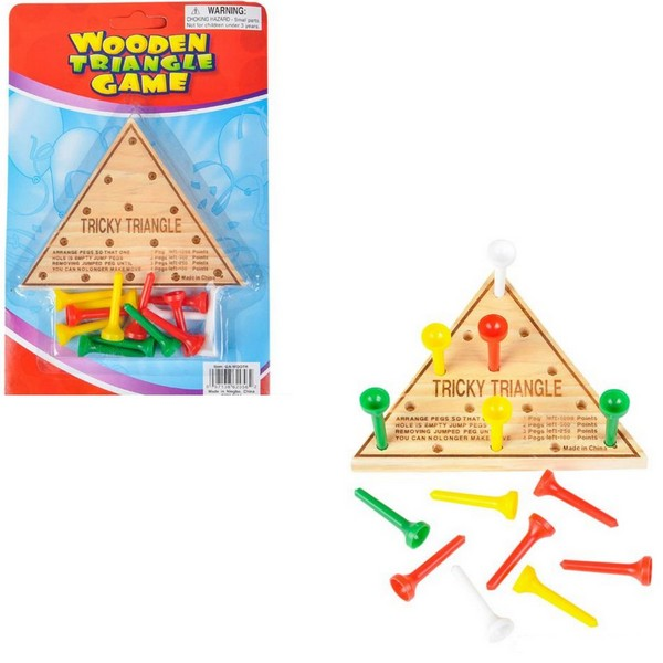 TR29562 Wooden Triangle GAME