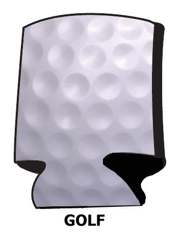 1003X-Golf Party Series Can Cooler with Custom Imprint