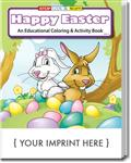 SC0446 Happy Easter Coloring and Activity Book With Custom Imprint