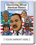 CS0594 Discovering African American History Coloring and Activity Book with Custom Imprint