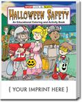 CS0473 Halloween Safety Coloring and Activity Book with Custom Imprint