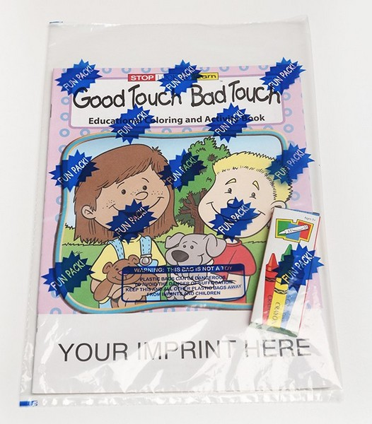 CS0185 Good Touch Bad Touch Coloring And Activity Book