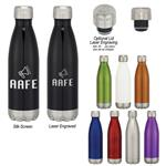 DH5706 16 Oz. Stainless Steel Vacuum Bottle With Custom Imprint