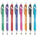 SGS0573 The Messenger Pen Metallic Style With Stylus And Custom Imprint