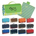 HH7026 Roll-Up Picnic Blanket with custom imprint