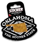 "SP-PSS 3 1/2"" Passport Stamp Vinyl Sticker"