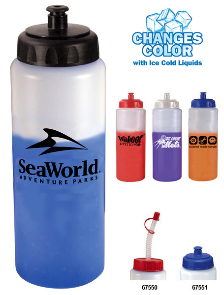 AK67551 32 oz. Mood Sports Bottle with custom imprint