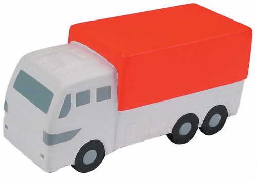 AP26107 Custom Imprinted Delivery Truck Stress Reliever Squeezie