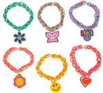 JR2914 Rubber Loom Bands With Charm