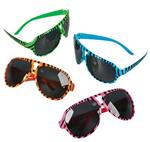 GR53106 Sunglasses with Black Zebra Print