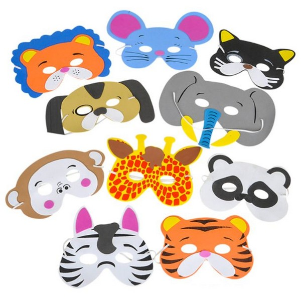 Wholesale Animal Now Available At Teak Furniture : AR58326 Foam Animal Mask from teakgardenfurniture.org size 600 x 598 jpeg 86kB