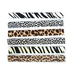 JBSLAZO Animal Print Slap Bracelet