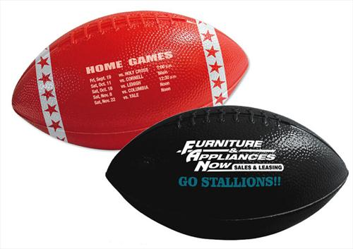 "FOOT6 Custom imprinted 6"" Mini Plastic Footballs"