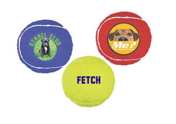 TGB23810 Toy TENNIS BALL With Full Color Custom Imprint