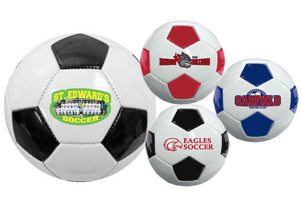 TGB1180 Mini Synthetic Leather SOCCER Balls With Custom Imprint