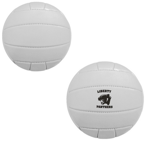 ''TGB1750  Mini Synthetic Leather VOLLEYBALLs 17.5'''' With Custom Imprint''