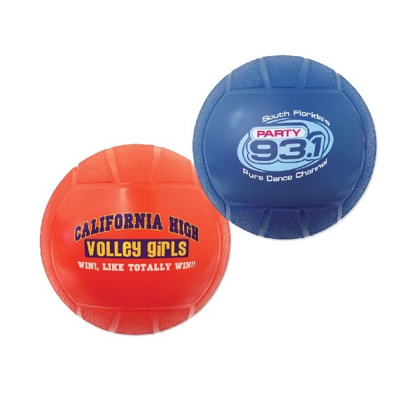 ''TGB41400-VL 4 1/4'''' Mini Vinyl VOLLEYBALLs With Custom imprint''