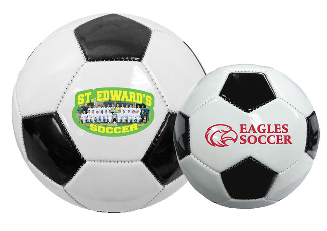 TGB5270 Full Size Synthetic Leather SOCCER Ball With Custom Imprint