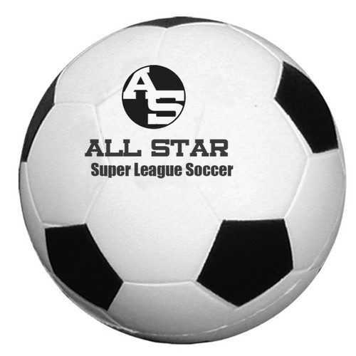 TH4072 SOCCER Ball Stress Reliever With Custom Imprint
