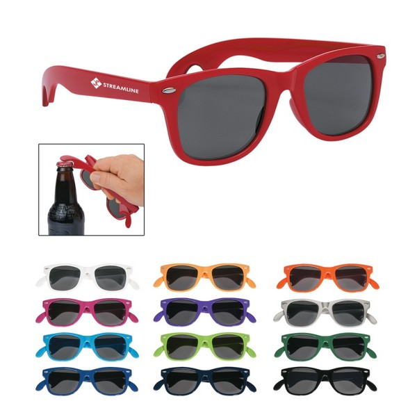 GH6213 Bottle Opener Malibu SUNGLASSES With Custom Imprint