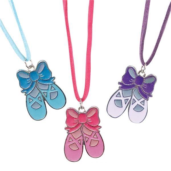 JR84350 Ballerina SLIPPERS Necklace