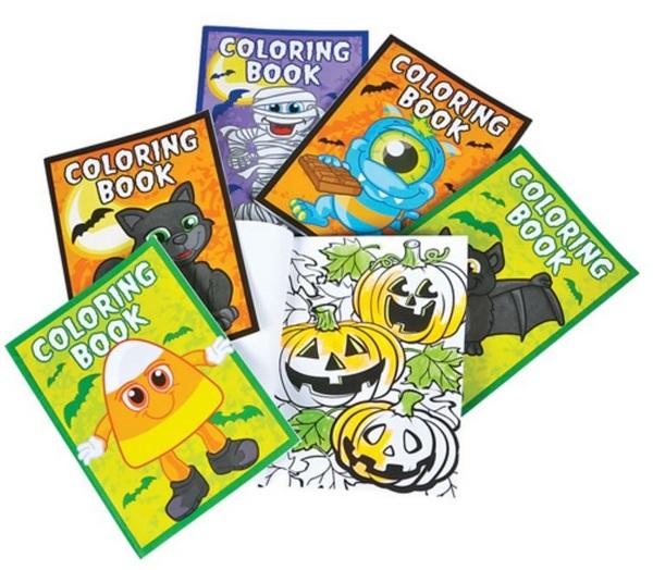 ZR61606 HALLOWEEN Coloring Book