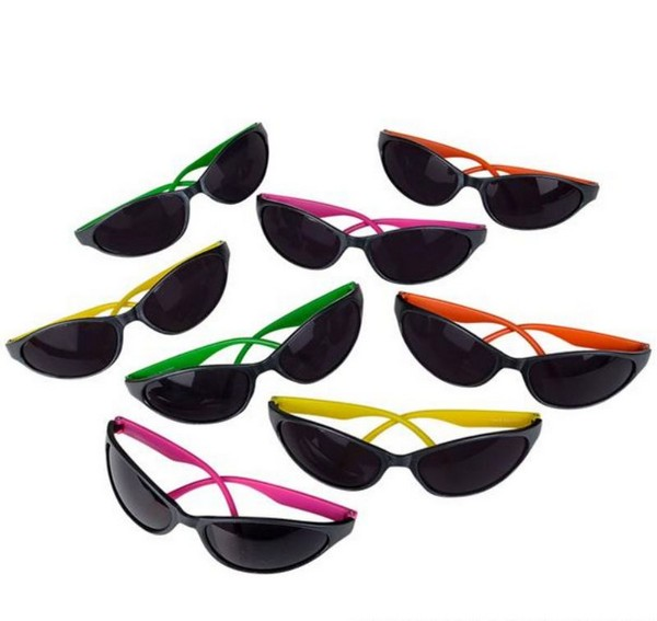 GR11772 Neon Wrap SUNGLASSES