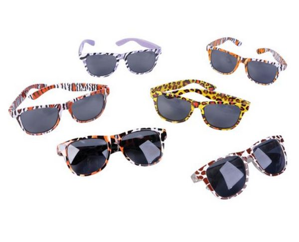 GR71247 Safari Print SUNGLASSES