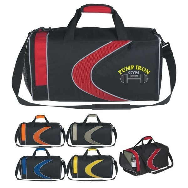 JH3127 Sports Duffel Bag With Custom Imprint · Click to see larger preview a5f1745a2a769