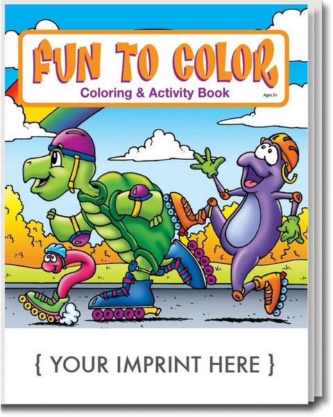 CS0560 Fun To Color Coloring And Activity Book English Version