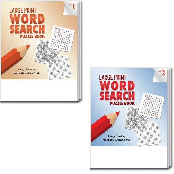 SCS19301B Large Print Word Search Puzzle Book