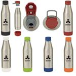 DH5323 18 Oz. Easy Cleaning Stainless Steel Bottle With Custom Imprint