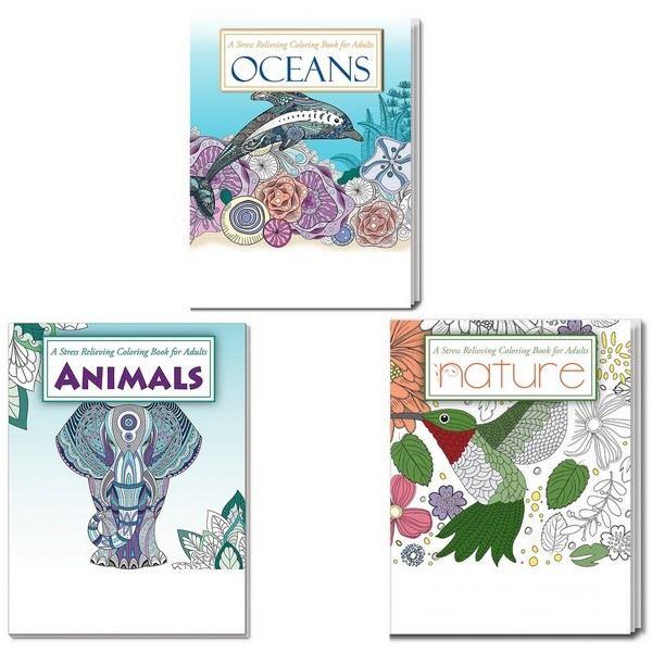 SCS2111B Adult Nature Coloring Books