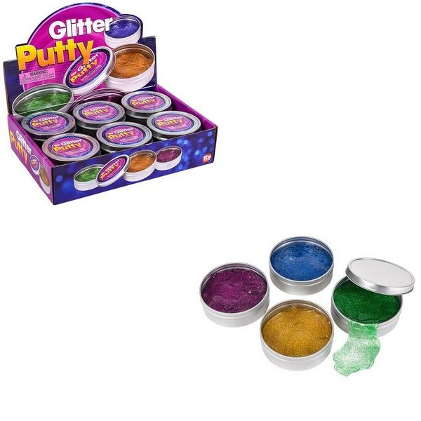 TR78670 Glitter Putty In Tin Box